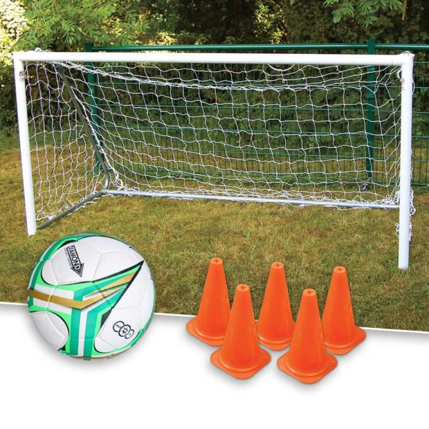 8x4 Football Goal and Diamond Football Package