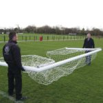 Folding Football Goal Package Moving