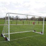 Heavy Duty EasyLift Steel Freestanding Football Goal Package 3