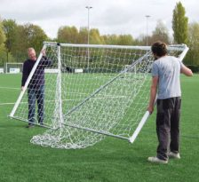 Heavy Duty Folding Football Goal Package