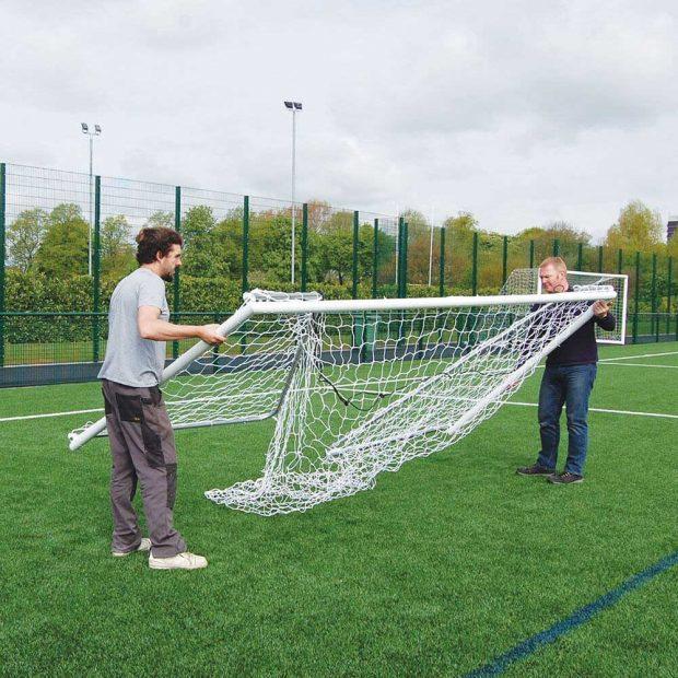 Heavy Duty Folding Football Goal Package 3