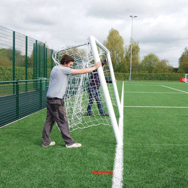 Premium Aluminium Quick Release Football Goal Package