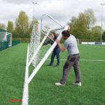 Quick Release Football Goal Package