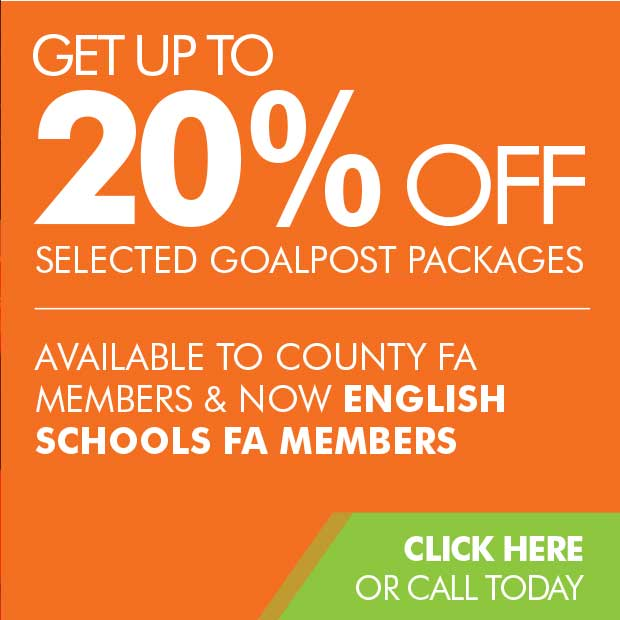 20% Off for County FA and ESFA