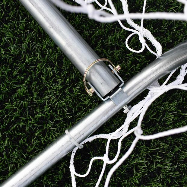 60mm Aluminium Lightweight Outdoor 12 x 4 Goal back bar and pin