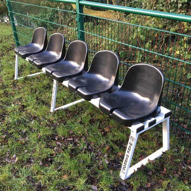 5 Seat Subs Bench & Sin Bin