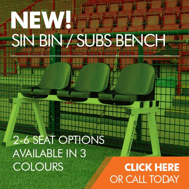 Sin bins / subs benches