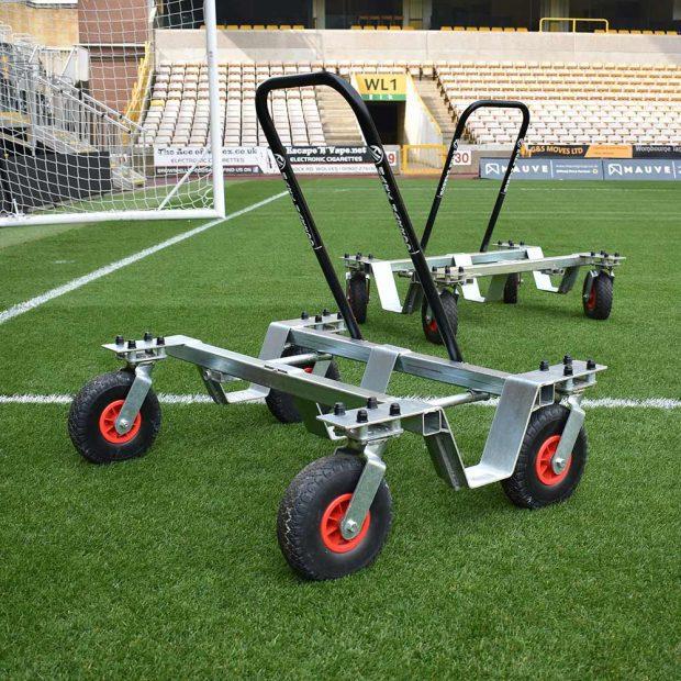 Premium Warm Up Goal Trolleys
