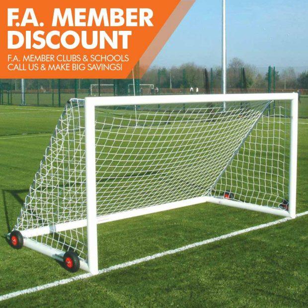 Mark Harrod Ltd Premium Easylift Aluminium Football Goal Package 4