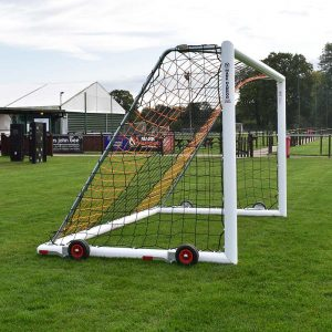 Devolift portable football goal image 1