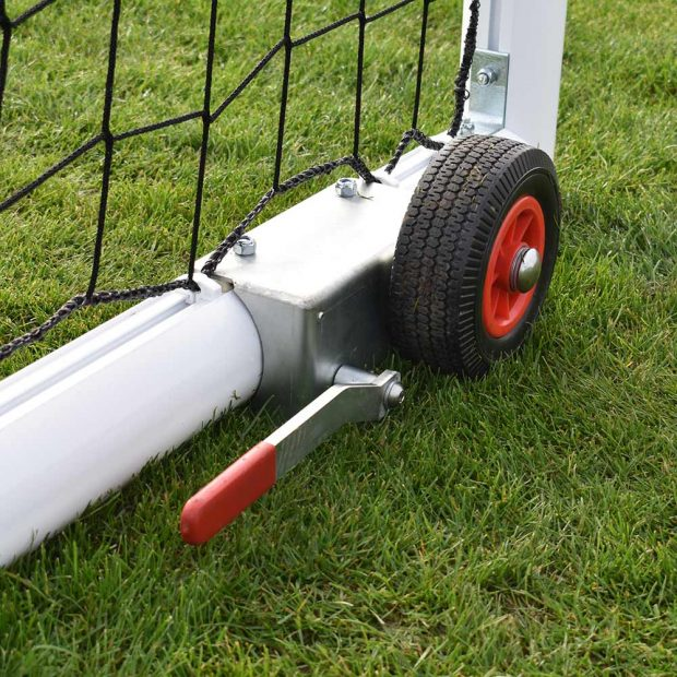 Devolift portable football goal image 2