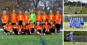 Staveley Miners Welfare U14s Girls FC and Brereton Town U14s FC