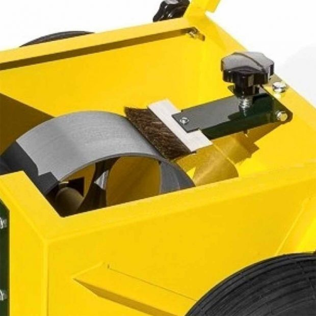 Wheel transfer line marking machine