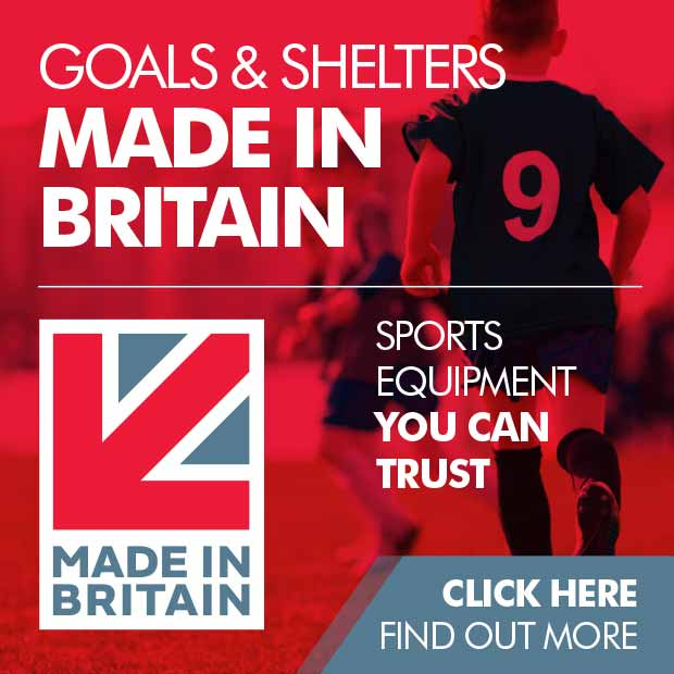 Goals and shelters Made in Britain