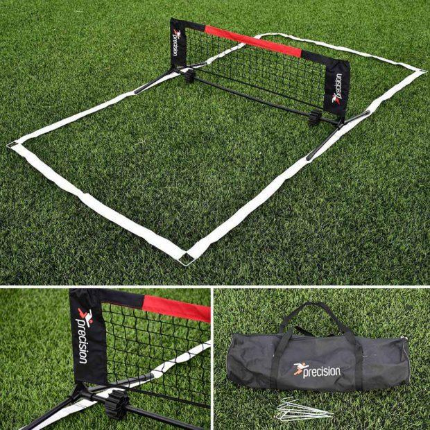 Precision Mini-Foot Tennis Set
