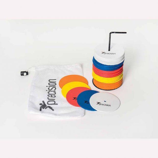 Precision Small Round Rubber Marker Discs Set of 50