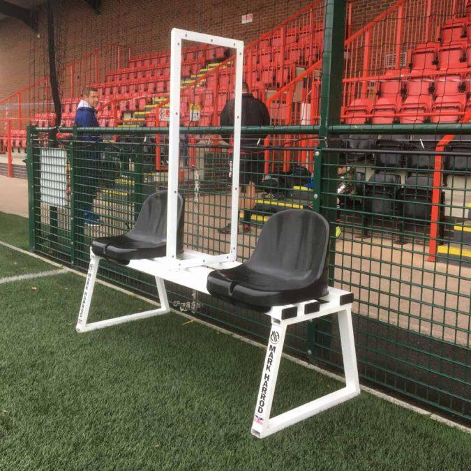 social distancing bench